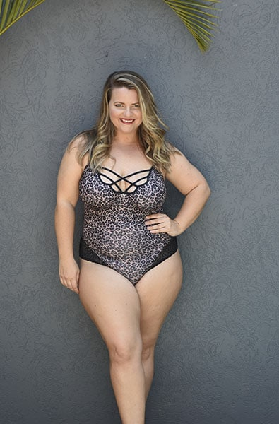 Bella Curves plus size Naomi Teddy